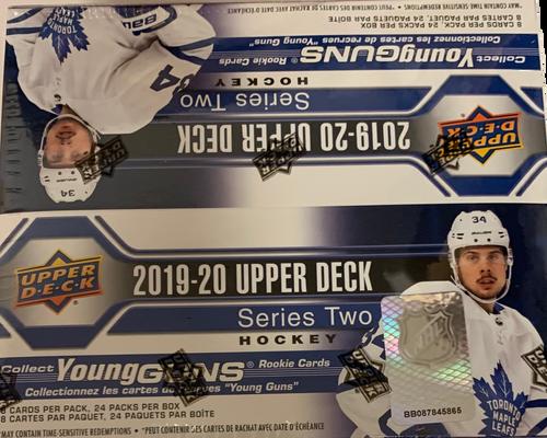 2019-20 Upper Deck Series 2 (Retail) Hockey