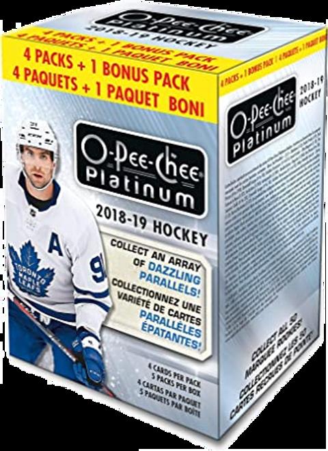 2018-19 Upper Deck O Pee Chee Platinum Hockey Blaster Box