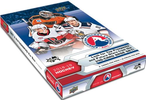 2018-19 Upper Deck AHL Hockey Hobby Box