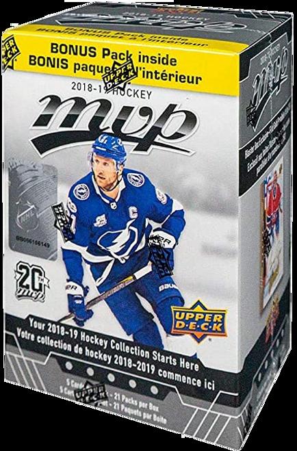 2018-19 Upper Deck MVP Hockey Blaster Box
