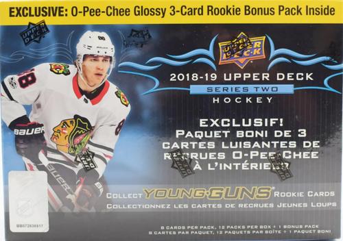 2018-19 Upper Deck Series 2 (Mega Box) Hockey