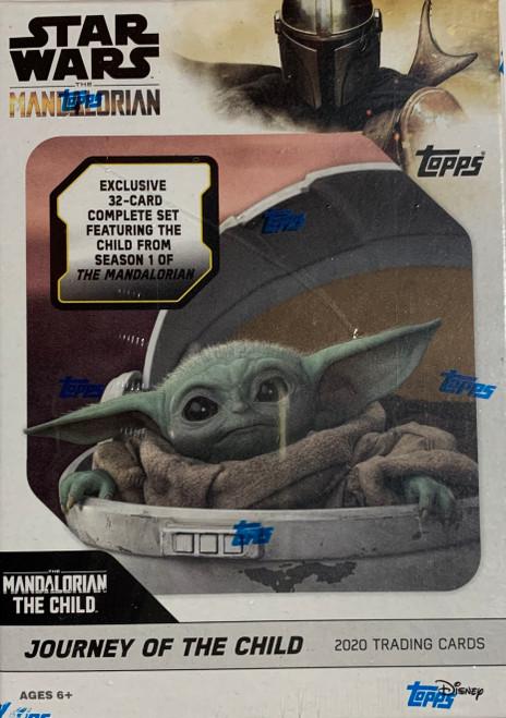 2020 Topps Star Wars Mandalorian Journey of the Child Blaster Set