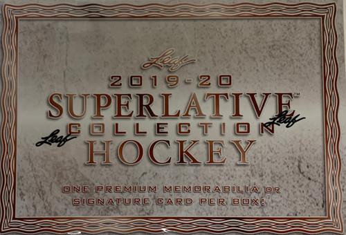 2019-20 Leaf Superlative (Hobby) Hockey