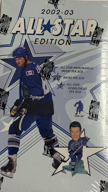 2002-03 Be A Player All Stars w/Bobble Head Hockey