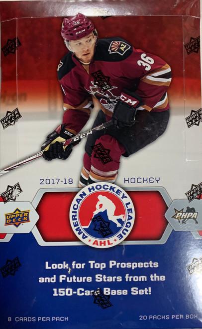 2017-18 Upper Deck AHL Hockey Hobby Box