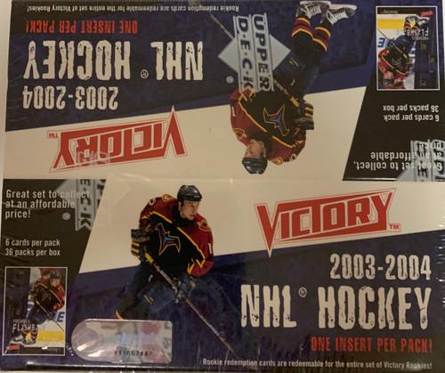 2003-04 Upper Deck Victory Hockey
