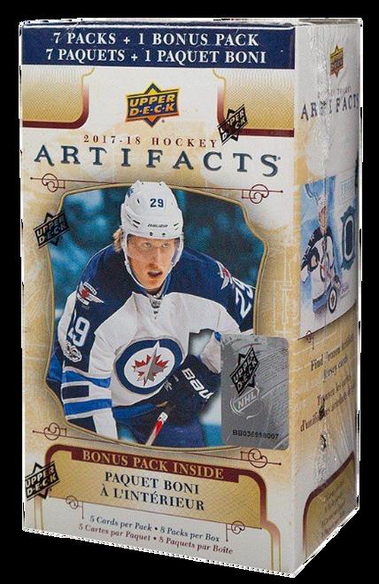 2017-18 Upper Deck Artifacts Hockey Blaster Box