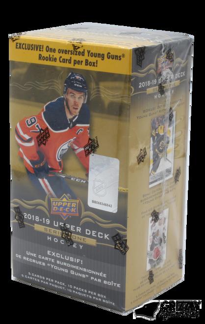 2018-19 Upper Deck Series 1 (Blaster) w/Oversized Portrait Hockey