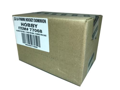 2013-14 Panini Dominion (Sealed 8 Box Case) Hockey