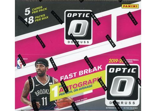 2019-20 Donruss Optic (Fast Break) Basketball