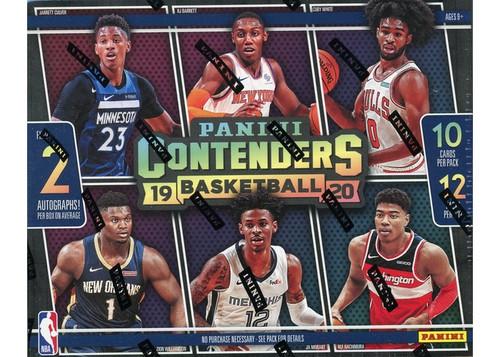 2019-20 Panini Contenders (Hobby) Basketball