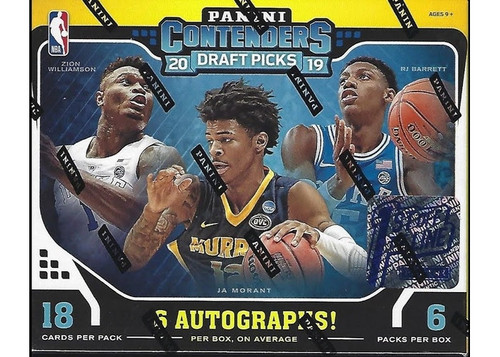 2019-20 Panini Contenders Draft Picks 1st OFF THE LINE Basketball