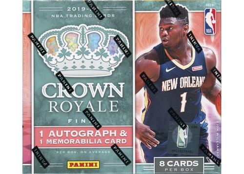 2019-20 Panini Crown Royale (Hobby) Basketball