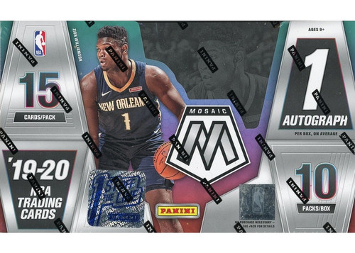 2019-20 Panini Mosaic 1st OFF THE LINE Basketball