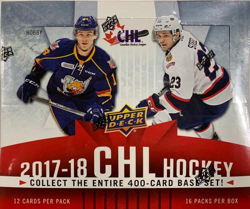 2017-18 Upper Deck CHL Hockey Hobby Box