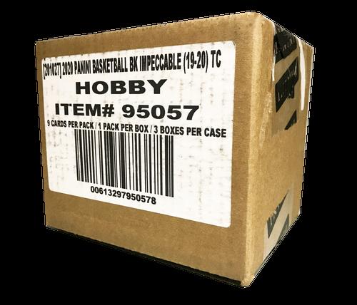 2019-20 Panini Impeccable (Sealed 3 Box Case) Basketball