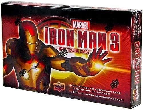 2013 Upper Deck Marvel Iron Man 3 Trading Card Box (Hobby)