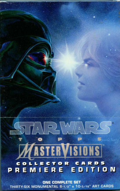 1995 Topps Star Wars Master Visions Premium Edition Trading Cards