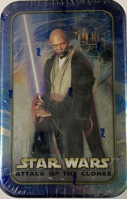 2002 Topps Star Wars Attack of Clones Trading Card Tin
