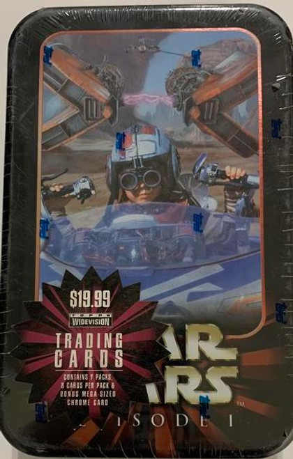 1999 Topps Star Wars Episode 1 Widevision Trading Card Tin