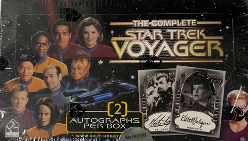 2002 The Complete Star Trek Voyager Trading Card Box