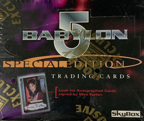 1997 Skybox Babylon 5 Special Edition Trading Card Box