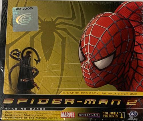 2004 Upper Deck Spider-Man 2 Trading Card Box