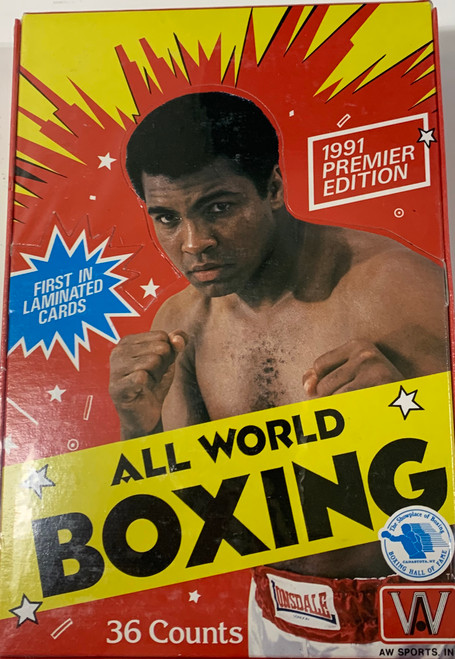 1991 AW Sports All World Boxing Box