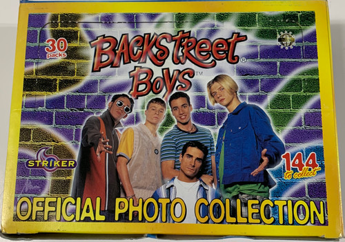 1997 Striker Backstreet Boys Official Photo Collection 4x6 Cards