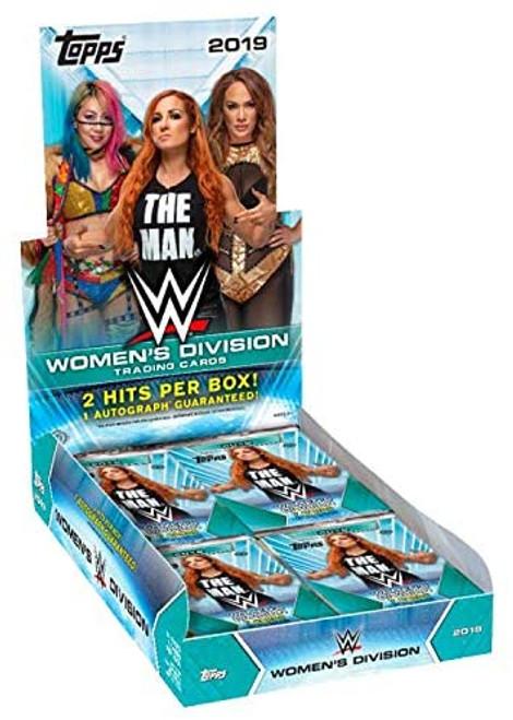 2019 Topps WWE Women's Division Wrestling (Hobby) Box