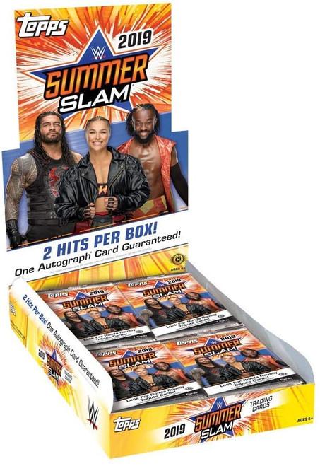 2019 Topps WWE SummerSlam Wrestling (Hobby) Box