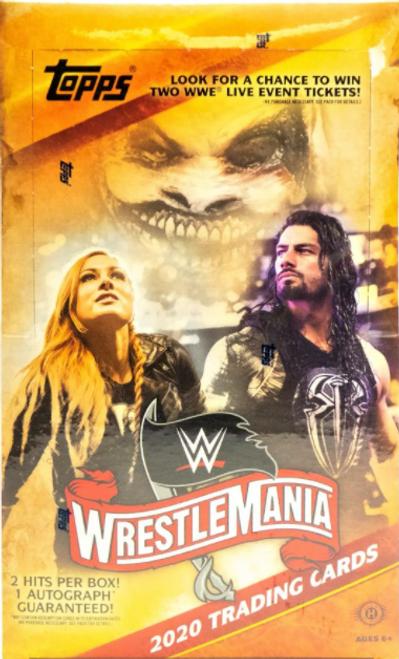 2020 Topps WWE Road To Wrestlemania (Hobby) Box