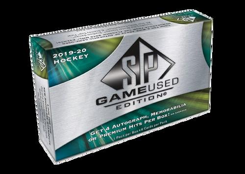 2019-20 Upper Deck SP Game Used Hockey Hobby Box