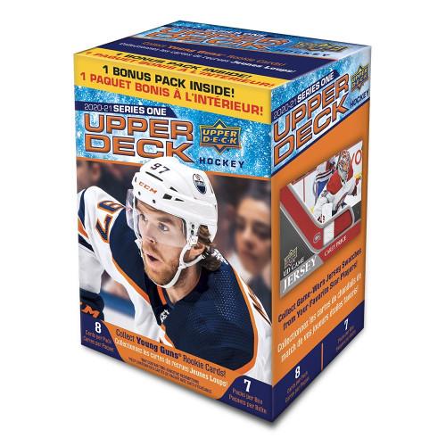 2020-21 Upper Deck Series 1 Hockey Blaster Box