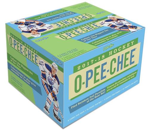 2017-18 Upper Deck O-Pee-Chee Hockey Retail Box