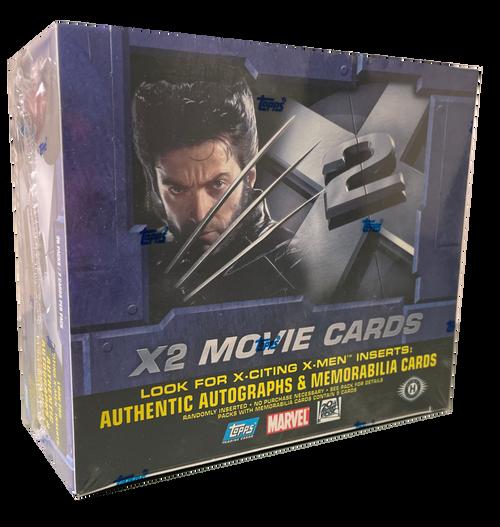 2003 Topps Marvel X2 X-Men Movie Cards Hobby Box