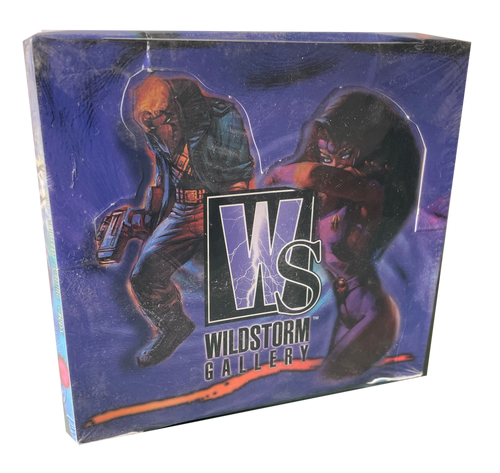 1995 Wildstorm Gallery Painted Trading Cards Box