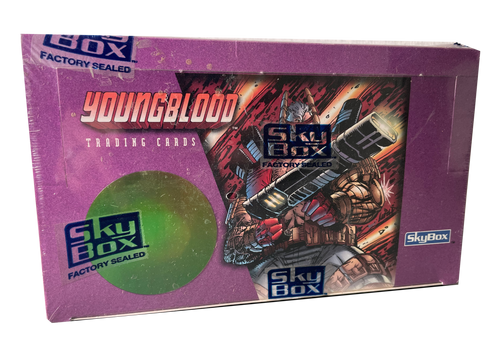 1995 Skybox Youngblood Trading Cards