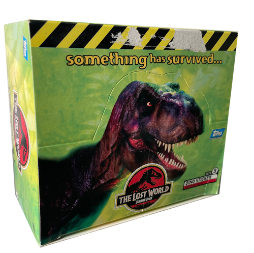 1997 Topps The Lost World Jurassic Park Trading Card Box