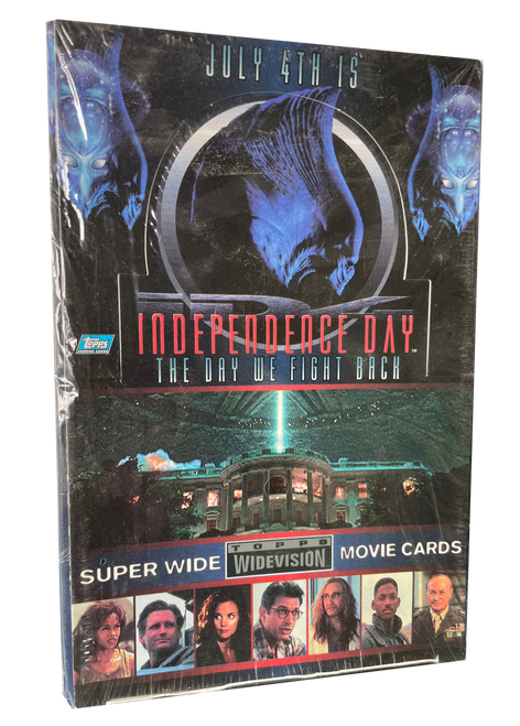 1996 Topps Widevision Independence Day Movie Card Box