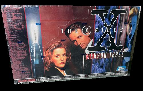 1996 Topps The X Files Season 3 Trading Card Box
