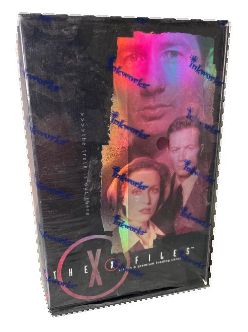 2002 Inkworks The X Files Season 8 Premium Trading Card Box
