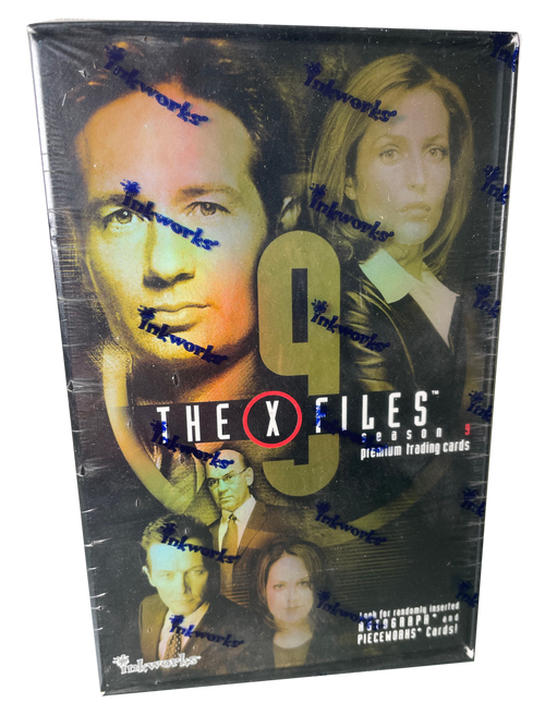 2003 Inkworks The X Files Seaons 9 Premium Trading Card Box