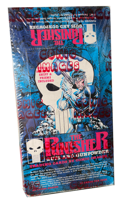 1992 Comic Images The Punisher Trading Card Box