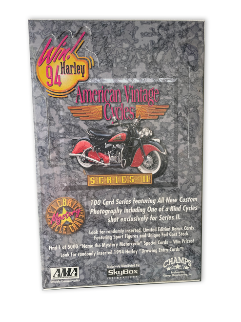 1994 Skybox American Vintage Cycles Series 2 Trading Card Box