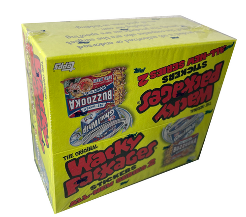 2005 Topps Wacky Packages Stickers Series 2 Box