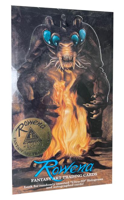 1993 Rowena Fantasy Art Trading Card Box
