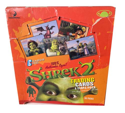 2004 Cards Inc. Shrek 2 UK Trading Card Box