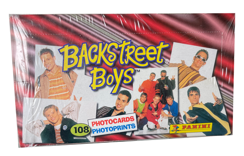 1997 Panini Backstreet Boys Photocards Box (Italy)