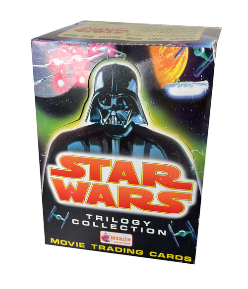 1997 Merlin Star Wars Trilogy Collection Movie Trading Card Box